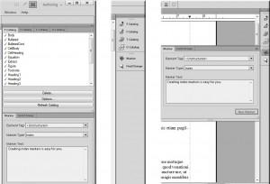 Adobe FrameMaker 11 - Verschiedene Menüanordnungen