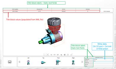3D PDF - jetzt mit Sprachenauswahl