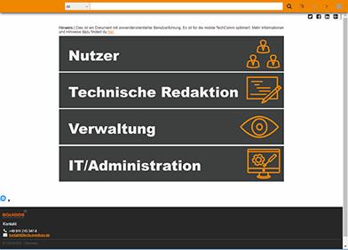 TechCommApp Hilfe 4.0x