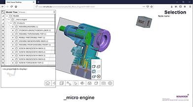 3D PDF und 3D HTML Beispiele