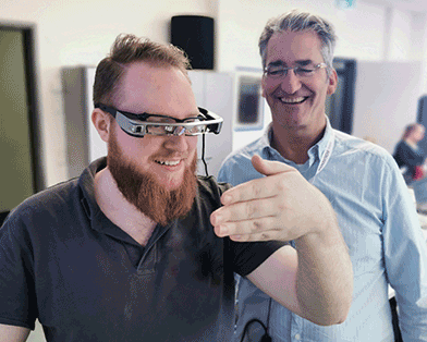 THM Gießen: Lernen mit der AR-Brille